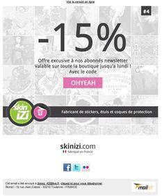 Skinizi - newsletters