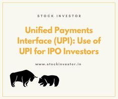 Applying for an Initial public offering gets simpler through UPI. Here we clarify a couple of subjects you have to think about the utilization of UPI for IPO Investors. The most effective method to Put resources into Initial public offering through UPI Initial Public Offering, Investors, Stock Market, Initials, How To Apply, Couple, Couples