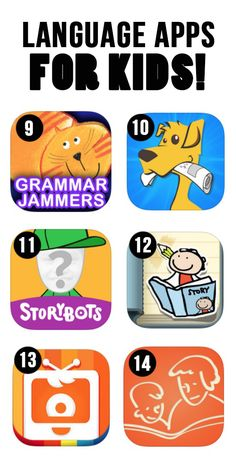 Fun Language Apps for Kids. There are many choices to choose from! I would have my students pick any app to mess around with. Educational Websites, Educational Activities, Educational Technology, Kids Websites, Learning Apps, Kids Learning, Learning Spanish, Teaching Boys, Learning Italian