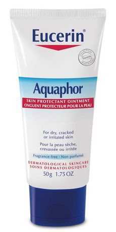 Eucerin Aquaphor Skin Protectant Ointment is the ideal choice for very dry or irritated dry skin.
