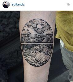 The Waves Tattoo - Virginia Woolf?