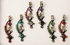 Bridal Bindi Body Face Jewelry Crystals makeup (Forehead, Eyebrow makeup)