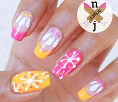 Nail Art Tutorial, Fun and Fresh, Neon Nails | NailIt! Magazine