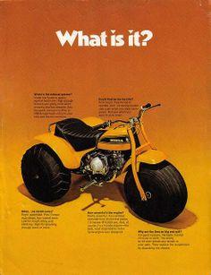 1970 Honda ATC 90 ..