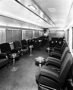 this is the tourquoise room lounge car on the santa fe 39 s super chief no other railroad seemed. Black Bedroom Furniture Sets. Home Design Ideas