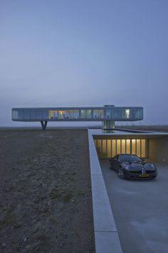 Kamperland, Zeeland NL / Villa Kogelhof / Architect Paul de Ruiter (Amsterdam) ... multiple pictures w/ description