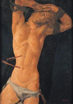 Modigliani does St. Sebastian