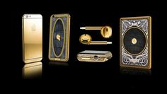 Helsinki-based Legend offers an opulent collection of customizable Apple products, from a hand-engraved iPhone coated in gold and crocodile skin, to an Apple Watch with a solid gold case and stingray leather straps. Apple Watch Iphone, Crocodile Skin, Apple Watch Series 3, Apple Products, Hand Engraving, Solid Gold, Fancy, Helsinki, Luxury