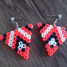Boucles d'oreilles perles a repasser