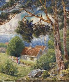 Carl-Edvard Diriks (1855-1930): From Drøbak