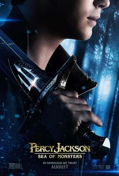 The New Percy Jackson poster