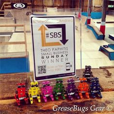 Skater bot army getting readied for another #craft #fayre #greasebugsgear #logotag #handmade #madeintheuk #madeingb