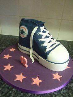 35 Best shoe cakes images | Shoe cakes, Cupcake cakes, Nike cake