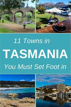 11 Towns in Tasmania You Must Set Foot in! Check out our list of Top 11 towns in Tasmania to visit on your road trip around the Apple Isle, otherwise known as Tasmania Australia Tasmania Road Trip, Tasmania Travel, Oh The Places You'll Go, Cool Places To Visit, Places To Travel, Great Barrier Reef, Adventure Is Out There, Australia Travel, Australia 2018