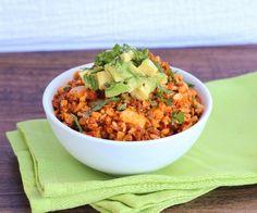 Mexican Cauli-rice with Chorizo
