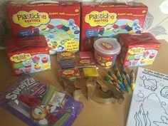 Join me for a twitter party wed 5th august 2-4pm #PlasticineSofteez