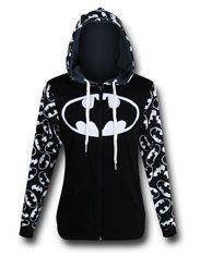 Batgirl T-Shirts & Clothing - Womens Batman - Ideas of Womens Batman - Batman Reversible Womens Hoodie Sweatshirt Outfit, T Shirt, Batman Love, Batman Stuff, Batman Batman, Superman, Hoodie Sweatshirts, Hoodies, Batman Hoodie