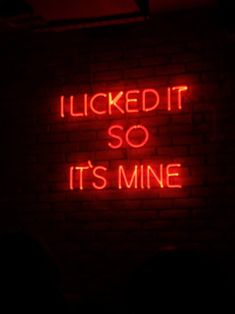 ♡Pinterest: kahlinanicole i licked that power outlet so its mine Sex And Love, Neon Signs, Cocktails, Porn, Free, Sexy, Cocktail Parties, Cocktail