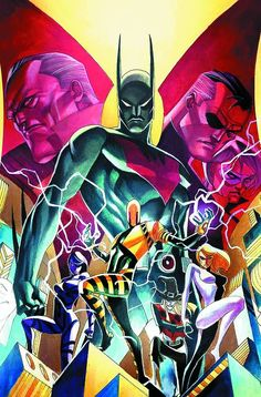 Batman Beyond #16 cover by Thony Silas