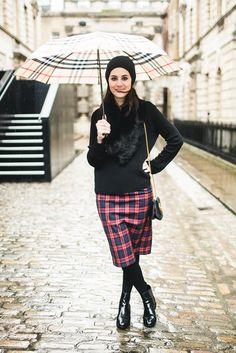 Look da Vic: Saia Zara, casaco H&M