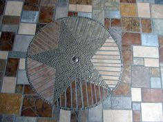 Mosaic tile entry way...by the Phoenix Commotion crew member/artist Paula.  Check out her art on ETSY at http://www.etsy.com/shop/IndustrialBloom and http://www.etsy.com/shop/PaulaArt.