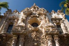 Balboa Park San Diego. Spanish Renaissance. Balboa Park, San Diego.