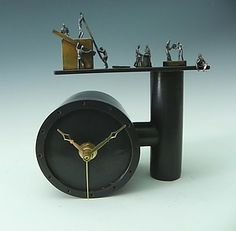 What a cool clock - by Malcolm and Mary Ann Owen