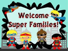 Image result for superhero back to school night