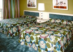 Contemporary Resort room 1971. Rooms look a little different these days.