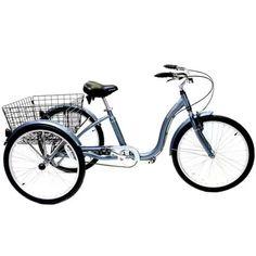 """24"""" Schwinn Meridian Adult Tricycle"""