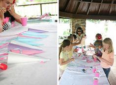 A Magical Unicorn Party // DIY Unicorn Horn Craft | Dream Green DIY @Katie Schmeltzer Schmeltzer Galley Snyder