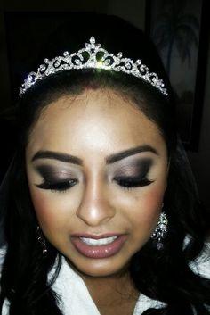 Bridal makeup#smokeyeyes#orlandomakeupartist