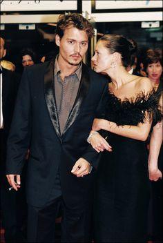 Les plus beaux couples du festival de Cannes Johnny Depp et Kate Moss - red carpet