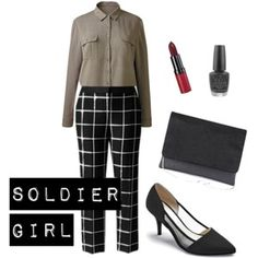 """""""Soldier Girl"""" by simplybe on Polyvore"""