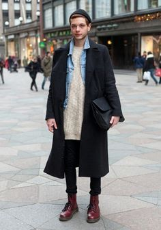 #coat #streetstyle