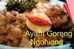 Resep Hidangan Ayam Goreng Ngohiong Super Enak Ala Chinese Food Ayam Goreng Resep Resep Ayam