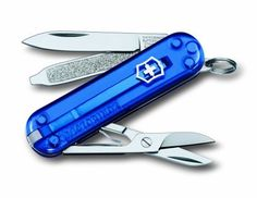 Purchase the fantastic Victorinox Just Jelly Classic SD Swiss Army Pocket Tool - Blue by Victorinox online today. This sought after item is currently available - get securely on Camping For Family today.
