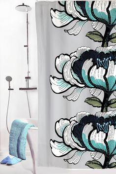 "Amazon.com - Vallila Interior Shower Curtain - Isadora - 71""w x 79""l -"