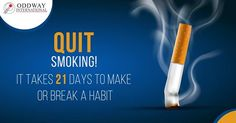 Craving is temporary but the damage to your lungs are permanent. Quit smoking today!
