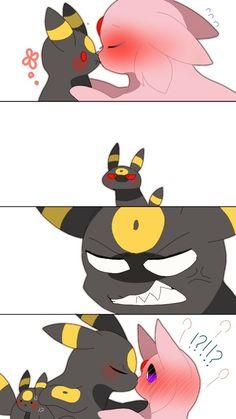 Pokemon Comics, Pokemon Memes, Pokemon Funny, Umbreon Wallpaper, Cute Pokemon Wallpaper, Umbreon And Espeon, Pokemon Eeveelutions, Eevee Comic, Pokemon Game Characters