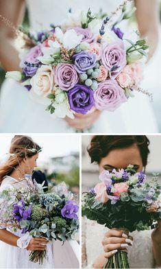 Lila Hochzeitsdeko: 30 tolle Inspirationen in Flieder und Lavendel - Hochzeitskiste