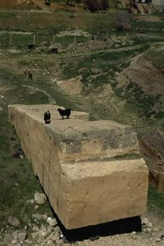 Baalbek Trilithon - A Wall With Two Pasts
