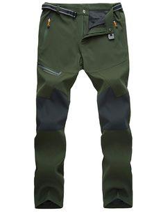 MAGCOMSEN Mens Hiking Pants 4 Zip Pockets Water-Resistant Rip-Stop Lightweight Quick Dry Fishing Work Pants