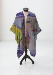 This sheer kimono-style wrap comes to the knee and drapes beautifully over a swimsuit or summer dress. Perfect for festivals or the beach. Kimono Top, Kimono Style, Kimono Fashion, Sunlight, Print Patterns, Swimsuits, Beach Artwork, Summer Dresses, Festivals