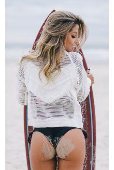 Jaqueta Tela Trends Branca Fashion Closet - fashioncloset