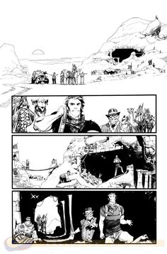 Preview: Chrononauts #1, Page 1 of 11 - Comic Book Resources