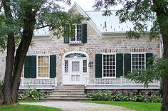 Inge-Va, Perth, Ontario, 1823-4. Stone Homes, Old Stone, Perth, Farm House, My Dream Home, Ontario, Gothic, Beautiful Places, New Homes
