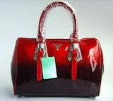 Prada 7873 Wonderful Style Handbag with Red handles