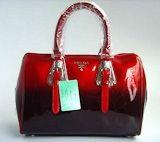 Prada 7873 Wonderful Style Handbag with Red handles