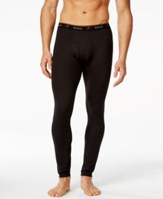 Engineered to adjust to your body temperature, these Thermolator pants from Terramar give you stretch comfort and warmth in cold conditions. Mens Outdoor Clothing, Outdoor Outfit, Carhartt, Polyester Spandex, Under Armour, The North Face, Underwear, Black Jeans, Pants